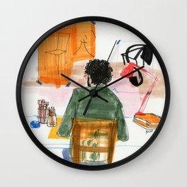 the illustrator Wall Clock