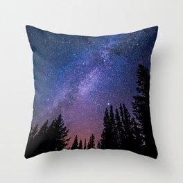Wide Awake Throw Pillow