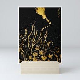 Fiery Quill Mini Art Print