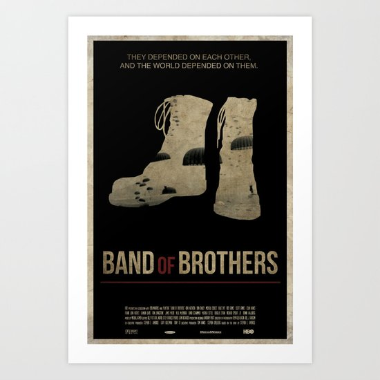 Band of Brothers Art Print