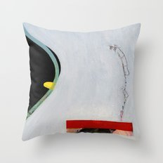Eliminate Clutter (oil on canvas) Throw Pillow