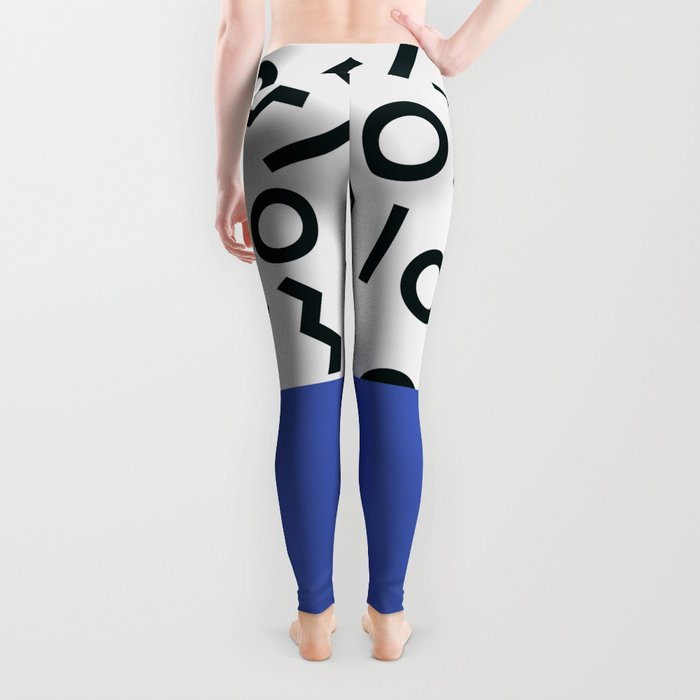 Memphis pattern 44 Leggings