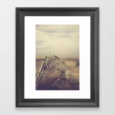 Hazy Days Framed Art Print