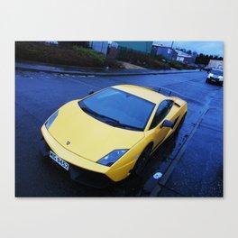 Lamborghini Gallardo Superleggera lp570 Canvas Print