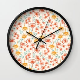 Floating Wishes Wall Clock