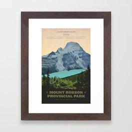 Mount Robson Provincial Park Framed Art Print