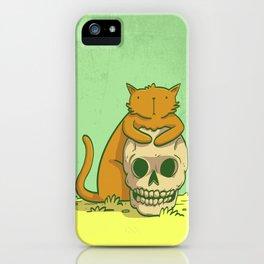 Kitty Hugs iPhone Case