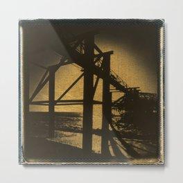 The West Pier Metal Print