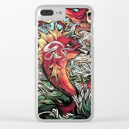 Badfish Clear iPhone Case