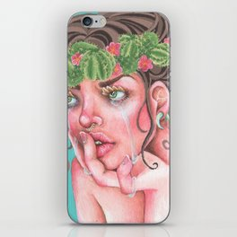 Cactus Queen iPhone Skin