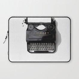 Typewriter (Black and White) Laptop Sleeve