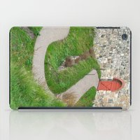 oslo iPad Cases featuring Oslo Fortress - Red Door by Amanda Lynn Granek
