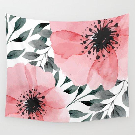 Pink Wall Tapestry wall tapestries | society6