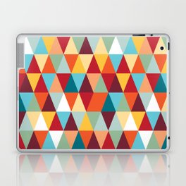 Geometric Color #abstract #bright #triangles Laptop & iPad Skin