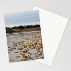 river rocks Stationery Cards