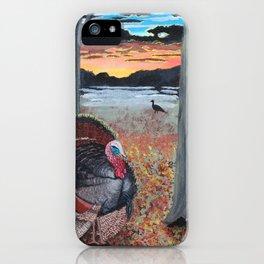 Turkey Strut at Sundown iPhone Case