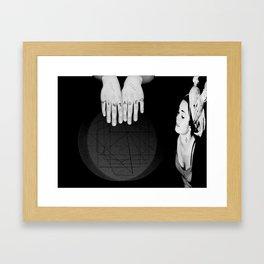 Boby's Hands Framed Art Print