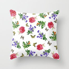 Botanical Mix Throw Pillow