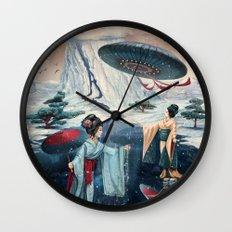 Holiday ice Wall Clock