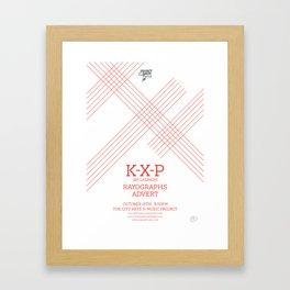 KXP Framed Art Print