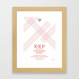 KXP Framed Art Print