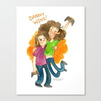 game grumps Canvas Prints featuring Game Grumps Hug by Super Group Hugs
