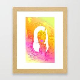 Hilda's Twin Framed Art Print