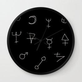 Alchemy Texture Wall Clock