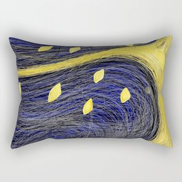 Golden Light Tree - Golden Light 3 Rectangular Pillow