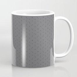 Claymore 7 Pattern - Medium Grey Coffee Mug