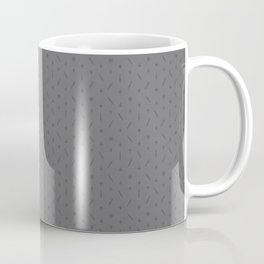 Claymore 7 Pattern - Medium Grey Coffee Mug