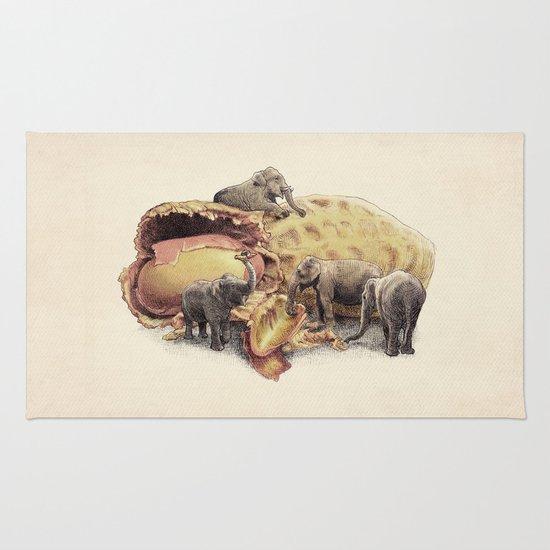 Elephant's Paradise Rug