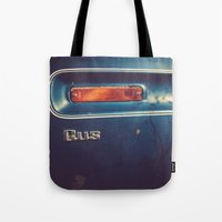 wisconsin Tote Bags featuring Wisconsin Flatbed by Memoirs of a Pilgrim - The Shop