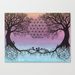The Network of Life Canvas Print