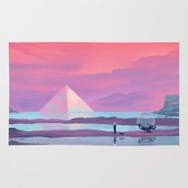 Ocean Pyramid Rug