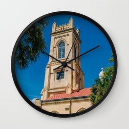 Charleston Steeple III Wall Clock