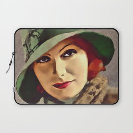 Greta Garbo, Hollywood Legend Laptop Sleeve