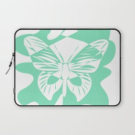 Carnival Glass Butterfly Laptop Sleeve