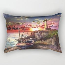 lighthouse landscape sky Rectangular Pillow