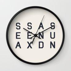 Sea Sex And Sun Wall Clock