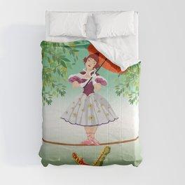 The Umbella girl With crocodile Comforters