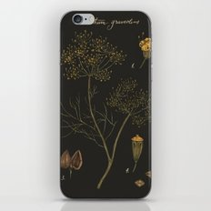 Dill (Dark Background) iPhone & iPod Skin