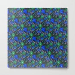 seamless floral pattern Metal Print