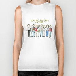 Empire Records cast fan Art Biker Tank