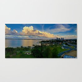 Panorama of The Gold Coast Canvas Print