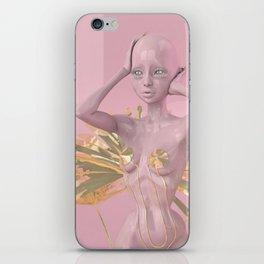 Pastel Humanoid Diskette iPhone Skin