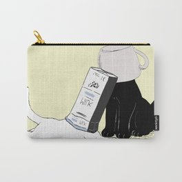 Your Yellow Quirky Cats  Carry-All Pouch