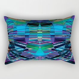Cyber dimension Rectangular Pillow