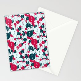 Musical repeating pattern No.5, Collection No.1 Stationery Cards