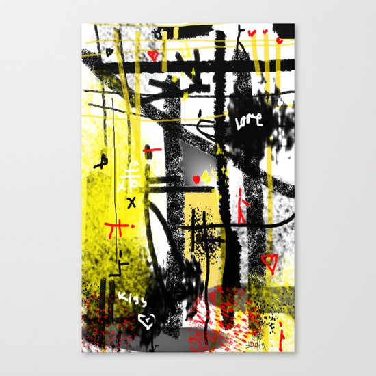 love game Canvas Print
